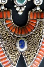 Tibetan Necklace close up