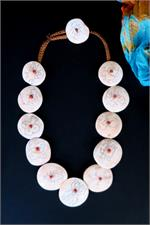 Conch shell tribal necklace