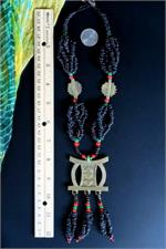 African Jewelry with ruler