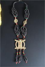Back view African Necklace