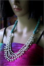 Necklace on manikin