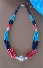 Ethnic jewelry necklace