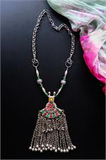 Fusion tribal necklace