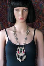 Kashmiri necklace on manikin