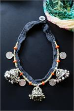 Kuchi tribal jewelry necklace