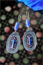 Large Laghman Earrings