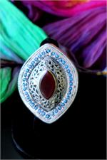 Large Afghan jewelry ring