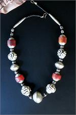 African Old Beads Necklace