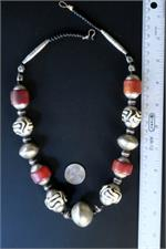 African Necklace with Ruler