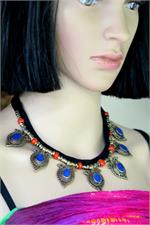 Lapis Blue Agate Jewelry