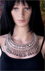 Afghan jewelry on manikin