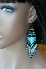 Long Peruvian Earrings