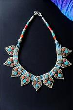Tibetan necklace from Nepal