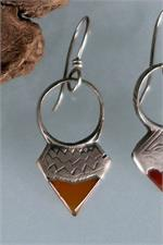 Close up Tuareg earrings