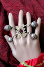 Turkoman ring on manikin