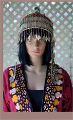 Turkoman headpiece on manikin