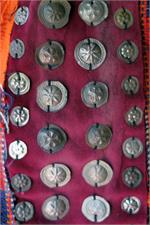 Close up Turkoman medallions